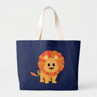 Sweet Lion Large Tote Bag