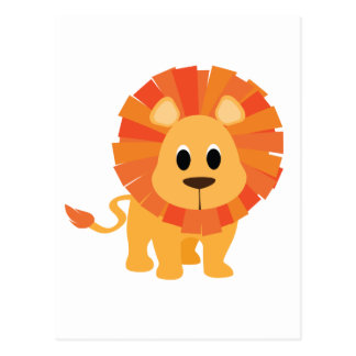 Sweet Lion Postcard