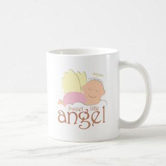 Sweet little angel logo coffee mug