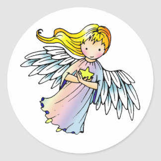 Sweet Little Angel Stickers
