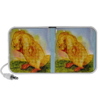 Sweet Little Baby Chick Travelling Speakers