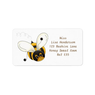 Sweet little Bee Label