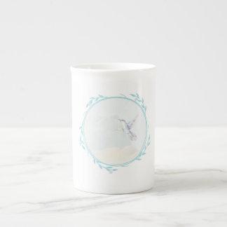 Sweet little bird tea cup