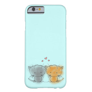 Sweet Little Cuddly Kittens Orange and Grey Barely There iPhone 6 Case