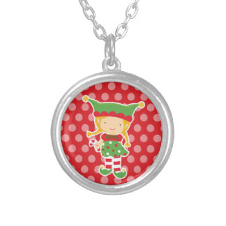Sweet Little Elf Christmas Necklace