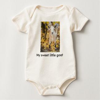 Sweet little goat baby bodysuit