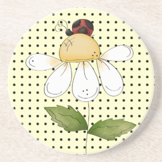 Sweet Little Ladybug Amazing Thirsty Coaster
