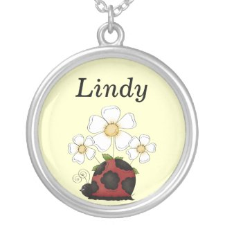 Sweet Little Ladybug Necklace