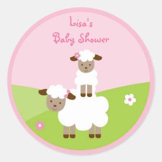 Sweet Little Lamb Stickers Envelope Seals