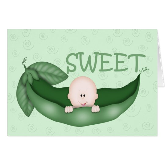 Sweet Little Pea Card