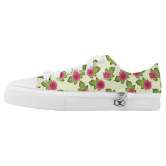 Sweet Little Roses Printed Shoes