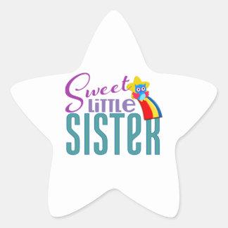 Sweet Little Sister Star Sticker