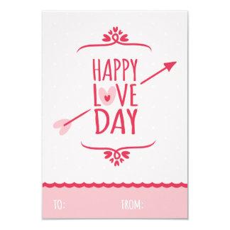 Sweet Love Classroom School Kids Valentine's Day 9 Cm X 13 Cm Invitation Card
