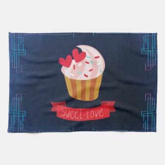 Sweet Love Cupcake Tea Towel