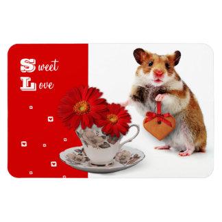 Sweet Love. Fun Valentine's Day Gift Magnet