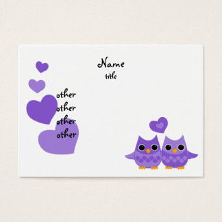 Sweet Love Owls