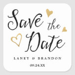 Sweet Love Save the Date Personalised Stickers