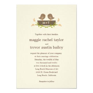 Sweet Love Wedding Invitation