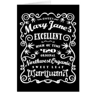 Sweet Mary Jane's Greeting Card