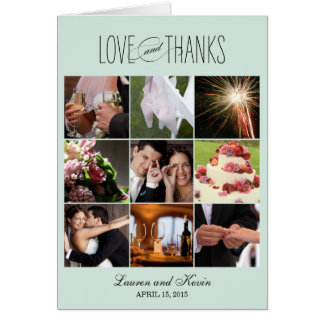 Sweet Memories Thank You Card - Aloe