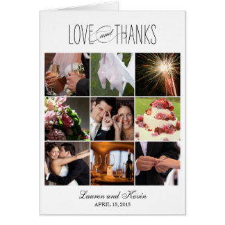 Sweet Memories Thank You Card - White Cards
