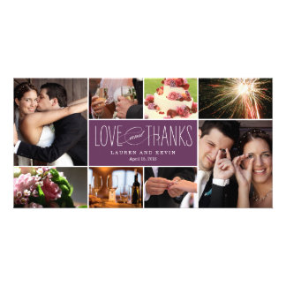Sweet Memories Wedding Thank You Photo Cards