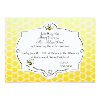 Sweet Mommy to Bee 13 Cm X 18 Cm Invitation Card