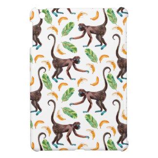 Sweet Monkeys Juggling Bananas iPad Mini Cover