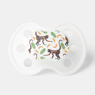 Sweet Monkeys Juggling Bananas Pacifier