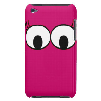 Sweet Monster Eyes On A Hot Pink Background Barely There iPod Cover