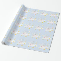 Sweet Moon Baby Shower Wrapping Paper
