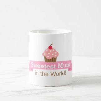 Sweet mother, Pink Cupcake, Mothers Day Coffee Mug
