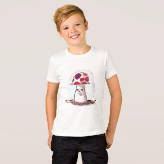 sweet mushroom cartoon style illustration T-Shirt