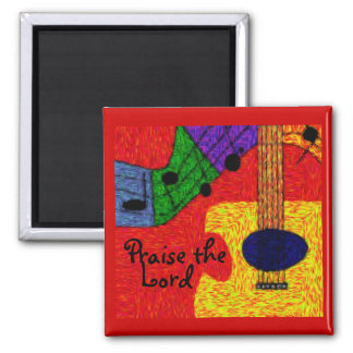 SWEET MUSIC SQUARE MAGNET
