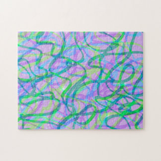 Sweet Neons Scribble Puzzle