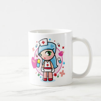 sweet nurse basic white mug