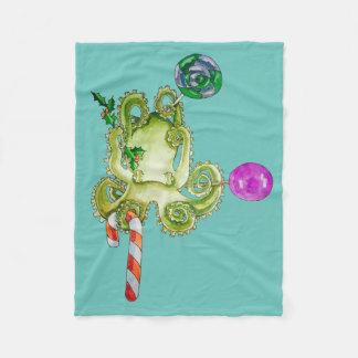 sweet octopus fleece blanket