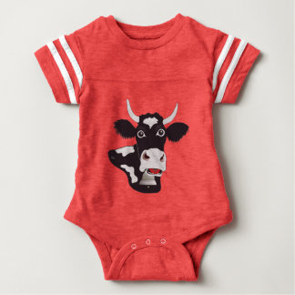 sweet of freiburger cow baby Body Baby Bodysuit