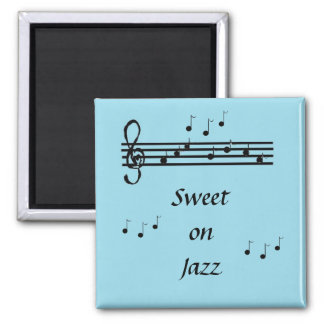 Sweet on Jazz - magnet