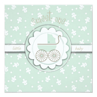 Sweet One Card Square