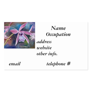 Sweet Orchid Business Card