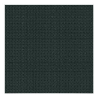 Sweet overlapping grey flowers on dark blue backgr posters