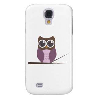 Sweet Owl on Branch Galaxy S4 Case