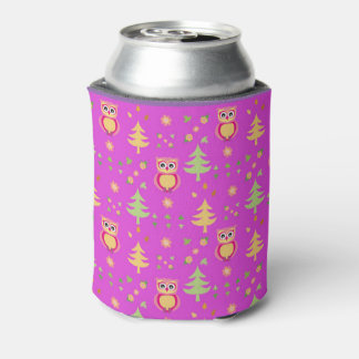 sweet owl pattern can cooler