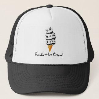 Sweet Panda Bear Ice Cream Cone Trucker Hat