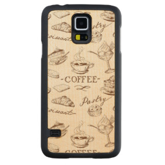 Sweet paper carved maple galaxy s5 case