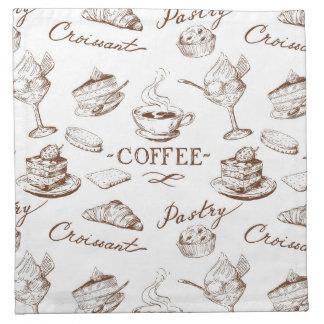 Sweet paper napkin