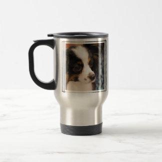 Sweet Papillon Puppy Coffee Mug