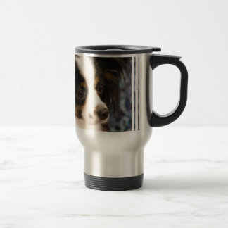 Sweet Papillon Puppy Coffee Mugs