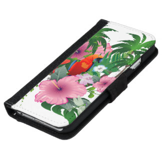 Sweet parrot iPhone 6 wallet case